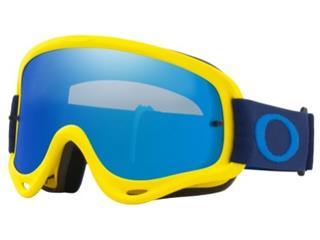 OAKLEY O Frame Goggle Yellow/Navy Black Ice Iridium Lens