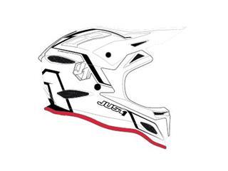 JUST1 JDH Mips Helmet Elements Black/White Size M
