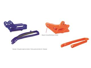 POLISPORT Chain Guide + Slider Kit Black Honda CRF450R/RX