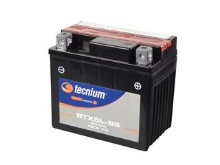 TECNIUM BTX5L-BS Battery Maintenance Free Delivered with Acid Pack