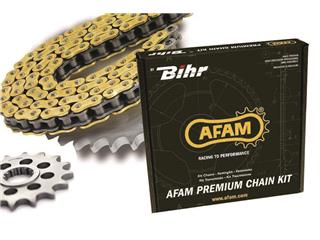 AFAM Chain kit 530 type XHR2 18/43 Ultra-Light Hard Anodised Triumph Speed Triple 1050