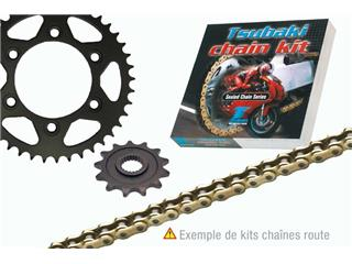 TSUBAKI Chain Kit 530 ALPHA 2 XRS Type (Standard Rear Sprocket) HONDA CBX550F