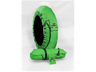 CAPIT Suprema Spina Tirewarmers Green Size M/XL