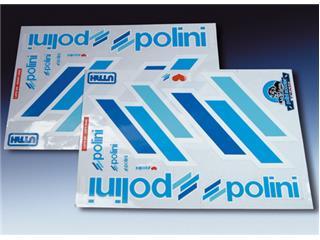 Kit deco Team Polini scooter contour blanc