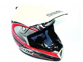 TWIN AIR Helmet Mud Deflector White
