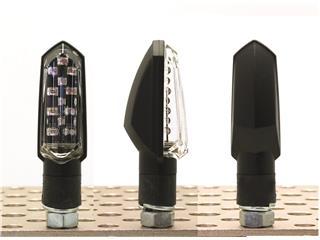V PARTS Bud LED Indicators Black Universal