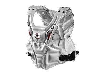 RXR Impact Chest Protector in White, size M