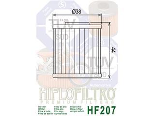 Hiflofiltro Oil Filter HF207