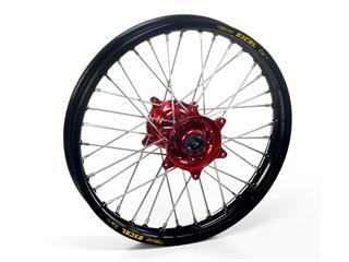 HAAN WHEELS Complete Rear Wheel 18X2.15 Black Rim/Red Hub Honda CRF450R/RX