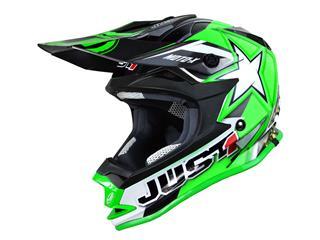JUST1 J32 Moto X Helmet green size YM kid
