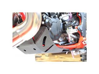 AXP Enduro HDPE Skid Plate Black Gas Gas EC250/300 Racing