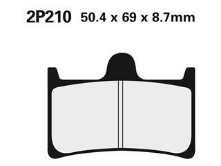 Nissin semi-metallic pad 2P210NS