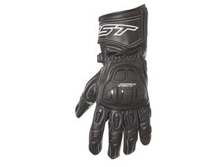 RST R-16 Semi Sport CE gloves leather summer black size 10 man