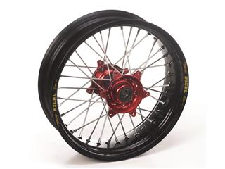 HAAN WHEELS Complete Rear Wheel 21x1,60 Black Rim/Red Hub Gas Gas