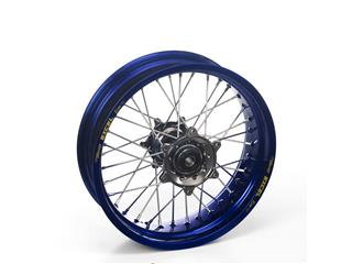 HAAN WHEELS Complete Rear Wheel 21x1,60 Blue Rim/Aluminum Hub Yamaha