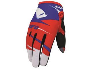 UFO Revolt Gloves junior Blue/Red 10-13 y/o
