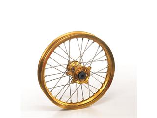 HAAN WHEELS Complete Front Wheel 21x2.15 Gold Rim/Gold Hub Honda Africa Twin