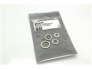 Pack of four Bihr M8, M10, M12 & M14 seal washers