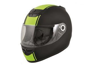 Boost B530 2015 Classic Helmet Black/Fluo Yellow Matt L