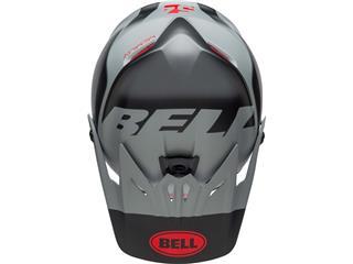 Visera Bell Moto-9 Infantil GLORY Negro Mate/Gris