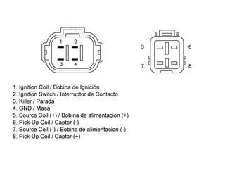 TECNIUM CDI Box Yamaha YFZ350 Banshee - 000f207a-bc58-4ddc-b548-dfe2d19072f7