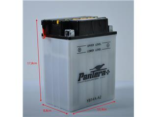 Batterie PANTERA+ YB14A-A2 conventionnelle - YB14AA2-P+