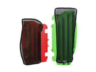 Filet cache radiateur POLISPORT noir Honda CRF450R - 784596BK