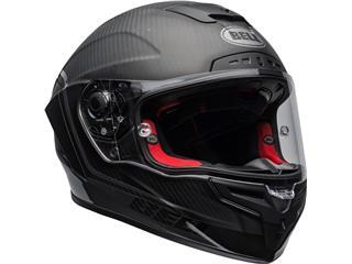 BELL Race Star Flex DLX Helmet Velocity Matte/Gloss Black Size L - 0095d13e-92bb-4e70-8f3d-9df68fe3f6de