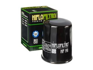 HIFLOFILTRO HF198 Oil Filter Black Polaris