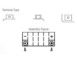 Batterie YUASA YTZ5S sans entretien activée usine - 00bccd3d-3bda-4881-96fb-25e2b64945de