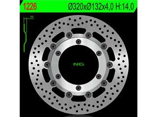 NG 1226 Brake Disc Round Floating Yamaha XT660X