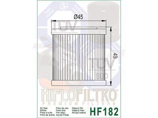 Filtro de aceite Hiflofiltro HF182 - 00c843af-bff2-42f3-973e-72ca084653ac