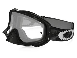 Masque OAKLEY Crowbar MX Jet Black Speed écran transparent