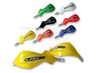 Protetores de mão fechado UFO alum. 22 amarela PM01632-102