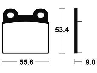 Plaquettes de frein TECNIUM MA27 organique - 0107b8f9-e98d-452e-b76f-05654464813f
