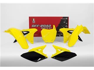 Kit plastique RACETECH couleur origine (2017) jaune/noir Suzuki RM-Z250 - 7805006
