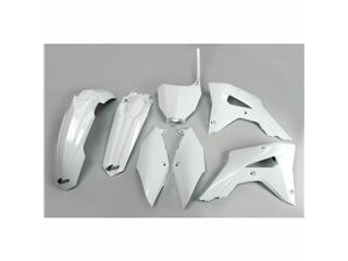 UFO Plastic Kit White Honda CRF450RX
