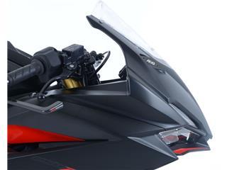 R&G RACING Mirror Blanking Plate Black Honda CBR250RR - 013b5244-1f92-401b-82ce-96229accb5d3
