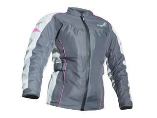 RST Gemma II Vented Jacket CE Textile Gun Greymetal Size S Women
