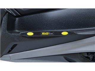 R&G RACING Footboard Sliders Black Yamaha X-Max 300