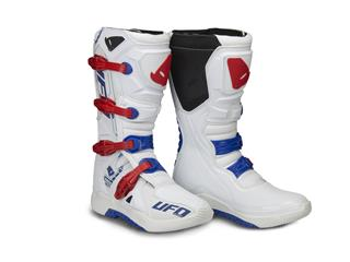 UFO Elektron Boots White/Blue/Red Size 46