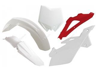 Kit plastique RACETECH couleur origine blanc/rouge Husqvarna - 7804886