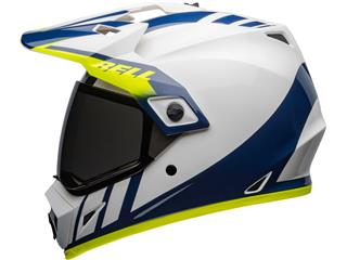 BELL MX-9 Adventure Mips Helm Dash Gloss White/Blue/Hi-Viz Größe XS - 023f040c-36af-4ec3-a0d3-4ea74e9a942d