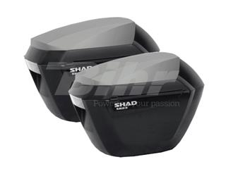 Maletas laterales SHAD SH23 Negro/Negro