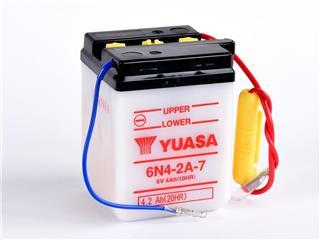 Batterie YUASA 6N4-2A-7 conventionnelle - 326N42A7