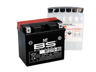 Batterie BS BATTERY BTZ7S-BS sans entretien livrée avec pack acide - 321023