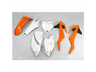 Kit plastique UFO couleur origine (2016) orange/blanc/noir KTM - 78555199
