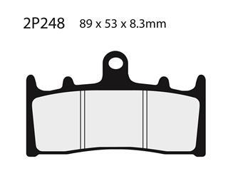 NISSIN Brake Pads 2P248ST Sintered Metal