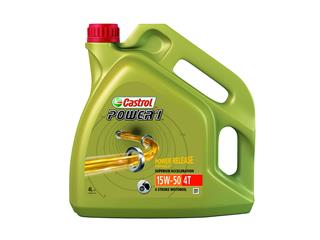 CASTROL Power 1 4T 15W50 Semi-synthetic Motor Oil 4 x 4L