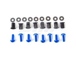 Kit parafusaria viseira alumínio Pro-Bolt azul SK10B - 54789